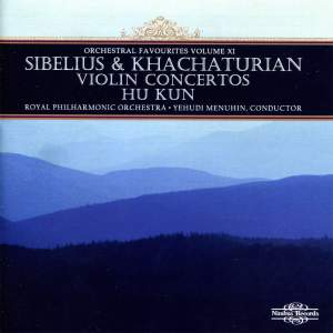 Orchestral Favourites Volume XI - Sibelius & Khachaturian Violin Concertos