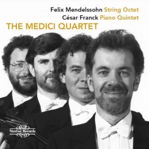 Mendelssohn & Franck: Works for String Quartet