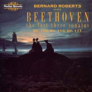 Beethoven: The Last Three Sonatas