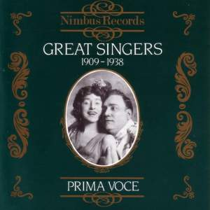 Great Singers Vol.1 - (1909 - 1938)