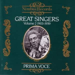 Great Singers Vol.2 (1903 - 1939)