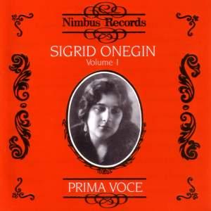 Sigrid Onegin Vol.1