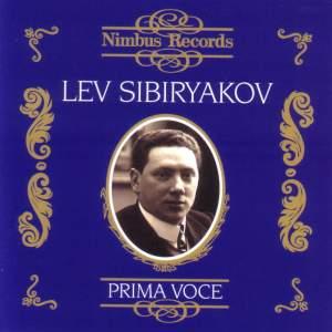 Lev Sibiryakov (1869 - 1942) - Recordings from 1907 to 1913