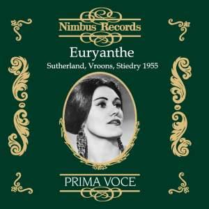 Weber: Euryanthe Product Image