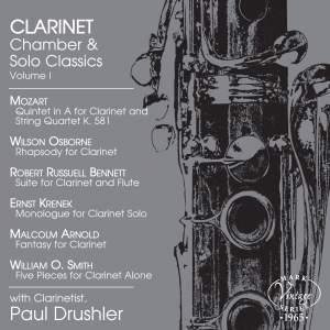 Clarinet Chamber & Solo Classics, Vol. 1