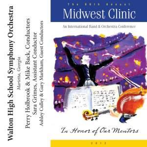 2012 Midwest Clinic: Walton High School Symphony Orchestra