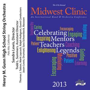 2013 Midwest Clinic: Henry M. Gunn High School String Orchestra