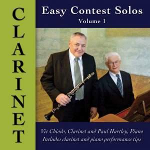 Easy Contest Solos, Vol. 1: Clarinet