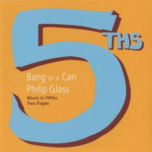 Glass: Music in Fifths & Two Pages Product Image