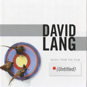David Lang: Music from the Film (Untitled) Product Image