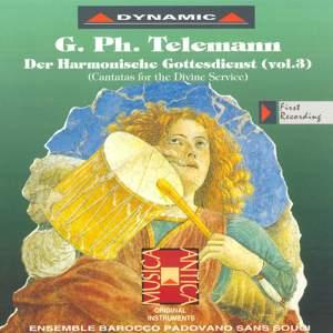 Telemann: Der Harmonischer Gottes-Dienst, Vol. 3 Product Image