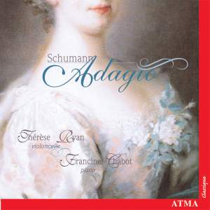 Schumann: Adagio (Music Arranged for Cello and Piano)
