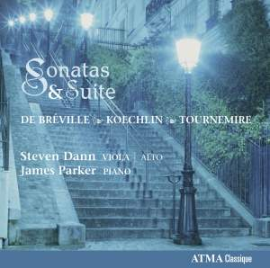 Koechlin, Tournemire & Breville: Viola Sonatas and Suites