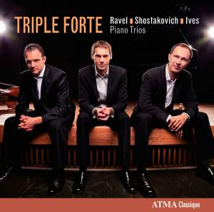 Ravel, Shostakovich & Ives: Piano Trios