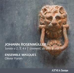 Rosenmüller: Sonate a 2, 3, 4 e 5 stromenti da arco & altri