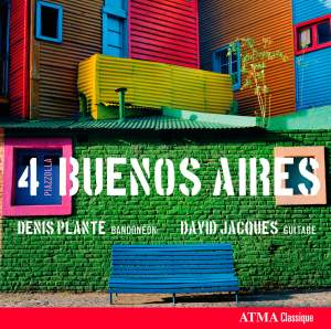 Piazzólla: 4 Buenos Aires