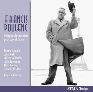 Poulenc: Intégrale des melodies pour voix et piano