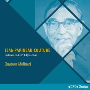 Jean Papineau-Couture: Quatuors à cordes Nos. 1-4 & Trio Slanò Product Image