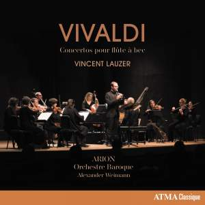 Vivaldi: Concertos pour flûte à bec Product Image