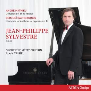 Mathieu: Piano Concerto No. 4 & Rachmaninov: Paganini Rhapsody