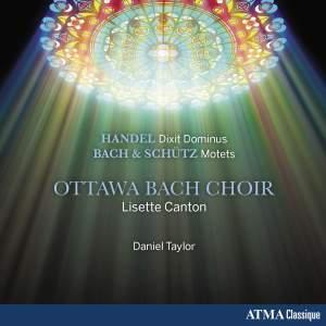 Handel: Dixit Dominus & Bach & Schütz: Motets Product Image
