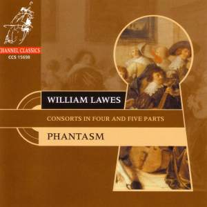 Lawes, W: Consorts in Four and Five Parts