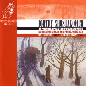 Shostakovich: Preludes for piano (24), Op. 34 (complete), etc.