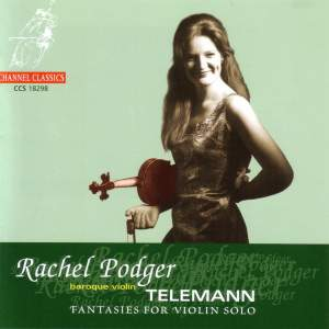 Telemann: Fantasias (12) for solo violin, TWV 40:14-25 Product Image