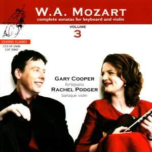 Mozart - Complete Sonatas for Keyboard & Violin, Volume 3