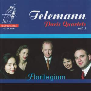 Telemann: Paris Quartets vol. 2