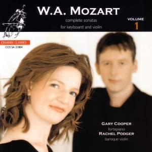 Mozart - Complete Sonatas for Keyboard & Violin, Volume 1
