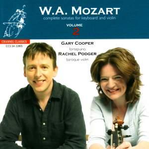 Mozart - Complete Sonatas for Keyboard & Violin, Volume 2