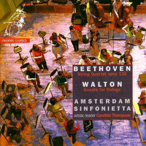 Beethoven: String Quartet No. 16 & Walton: Serenade for Strings