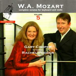 Mozart - Complete Sonatas for Keyboard & Violin, Volume 5