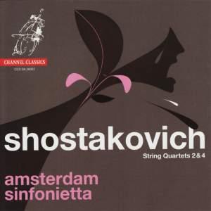 Shostakovich -String Quartets Nos. 2 & 4