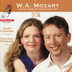 Mozart - Complete Sonatas for Keyboard & Violin, Volumes 7 & 8