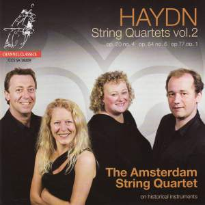 Haydn - String Quartets Volume 2 Product Image