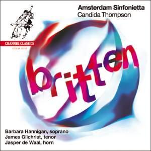 Britten: Works for voice & string orchestra