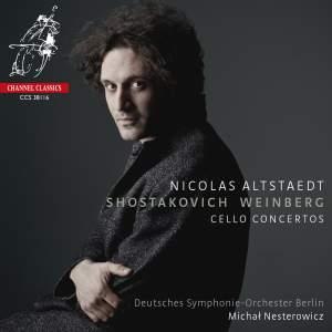 Shostakovich & Weinberg: Cello Concertos