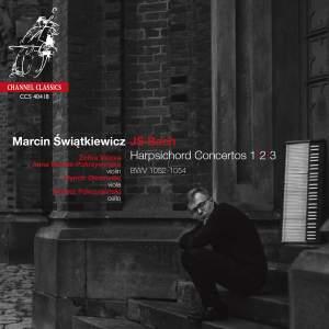 JS Bach: Harpsichord Concertos Nos. 1, 2 & 3 Product Image
