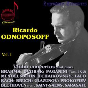 Ricardo Odnoposoff, Volume 1