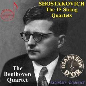 Shostakovich: The 15 String Quartets Product Image