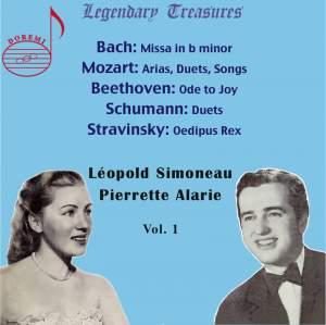 Leopold Simoneau & Pierette Alarie (Vol. 1)