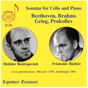 Rostropovich & Richter: Sonatas for Cello and Piano Product Image