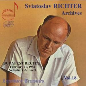 Sviatoslav Richter Archives, Volume 18