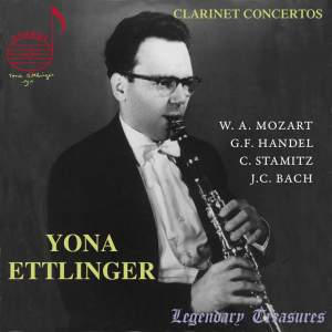 Yona Ettlinger plays Clarinet Concertos