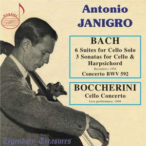 Antonio Janigro plays Bach & Boccherini