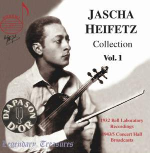 Jascha Heifetz Collection (Vol. 1)