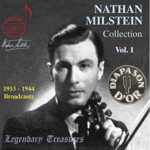 The Nathan Milstein Collection, Volume 1