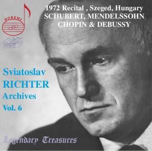 Sviatoslav Richter Archives, Volume 6
